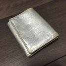 ベッカー極小財布(シルバー、使用品)(〜7/7まで)