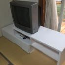 ブラウン管テレビ、テレビボード  お礼付き!