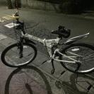 中古 自転車 折りたたみ 26インチ