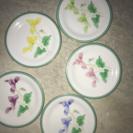 香蘭社の皿5枚セット