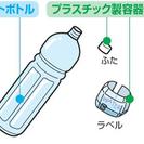 ペットボトル・牛乳パック・ビール空缶・使用済み容器下さい。