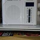値下げしました  東芝 時計付き防水ラジオ