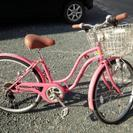 24型、女の子用自転車
