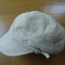 キャスケット 帽子 / 新品同様品