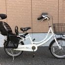モワティエミニ チャイルドシート付き 自転車(中古)