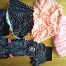 値下げしました。子供のスカート120から150センチ