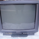 sony 21インチ ブラウン管テレビ ゲーム用にどうでしょうか?