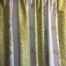 日本製遮光1級カーテン ナチュラル 北欧 グリーン