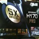 ASUS H170-PRO新品 + cpu g4400(新品購入後...