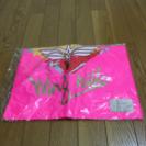 白鳥ウィングヒルズのポンチョ(ピンク)新品
