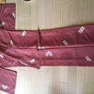 着物  サーモンピンク 裄丈66