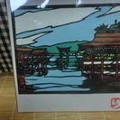 <切り絵>厳島神社(広島県)