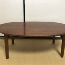 【取りに来て頂ける方限定】北欧家具Re:CENOの折りたたみ式テーブル