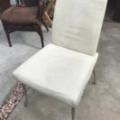 白いイス★椅子