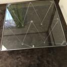 ガラステーブル 80センチ×80センチ