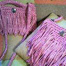 上永谷6月★ズパゲッティ等でバックを編みましょう かぎ編み