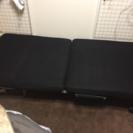 【中古】折りたたみベッド(黒)