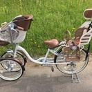 バンビーノ3人乗り自転車 ヘルメットおまけつき