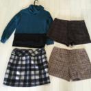 【値下げしました!】ショートパンツ、スカート