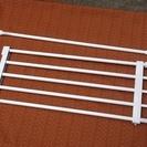 【商談中】突っ張り棒と突っ張り棚のセットです どうぞ使ってくださいませ