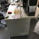 事務机とブックガード - 家具