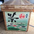 アンティーク 茶箱 保存 リメイク