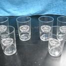 お冷用グラス 6個セット 飲料メーカー・キリンのグラス