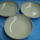 大皿 3枚 TOYOTOKI (東洋陶器・現TOTO)1枚270円