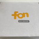 【5/28さらに値下げ】フォン FON 無線LANルーター 【Wi...
