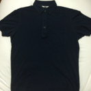 紺色 ユニクロ ポロシャツ メンズ