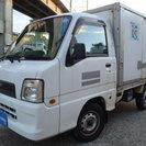 ※現状販売 平成17年式 スバル サンバートラック 保冷車 4WD!!