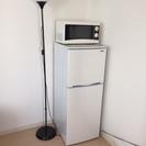 アビテラックス 2ドア冷蔵庫(138L・右開き)