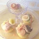 笑顔広がる☆可愛くおいしくときめく和菓子■あんフラワー&あんクラフト■カップケーキ教室 - 福岡市