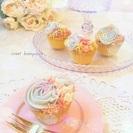 笑顔広がる☆可愛くおいしくときめく和菓子■あんフラワー&あんクラフト■カップケーキ教室 - 教室・スクール