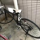 【募集終了】クロスバイク 黒 譲渡証明書付き