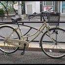 ★リサイクル(再生)自転車・中古自転車・26インチ・アイボリー