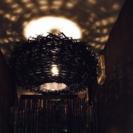 【値下しました!!】francfranc 照明 ライト 黒 フラ...