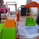【交渉中】ロングスロープキッズパーク(幼児用ジャングルジム・滑り台遊具)