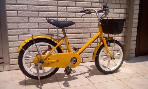 今日は娘の3歳の誕生日そろそろ自転車乗れるかもしれないと、無印良品の16インチの自転車が誕生プレゼント白・赤・黄色・緑の4色があるが、何回聞いても緑が良い  ...