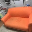 布がけのソファーです。