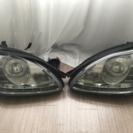 ベンツS430 などの後期仕様ヘッドライト