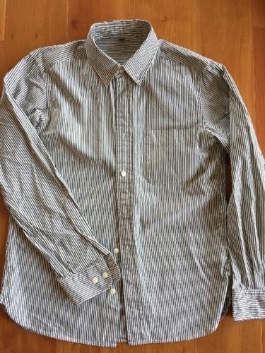 値下げしました【無印良品】ストライプシャツの画像