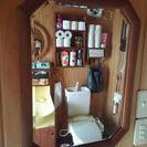 素敵なデザインの鏡