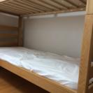 二段ベッド 無印良品 - 売ります・あげます