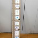 木製 子供 身長計 フォトフレーム (中古)
