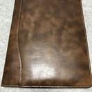 革の手帳カバーA4サイズ