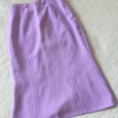 タグ付き‼綺麗な藤色スカートです。