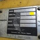 【PC138US-2EO】コマツ 油圧ショベル PC138US-2EO パット 5.841時間 2003年 - 栃木市