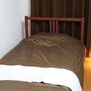 IKEAシングルベッド売ります!ベッドとマットレス配達組立込み1...