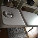手動式昇降機能付きマッサージベッド